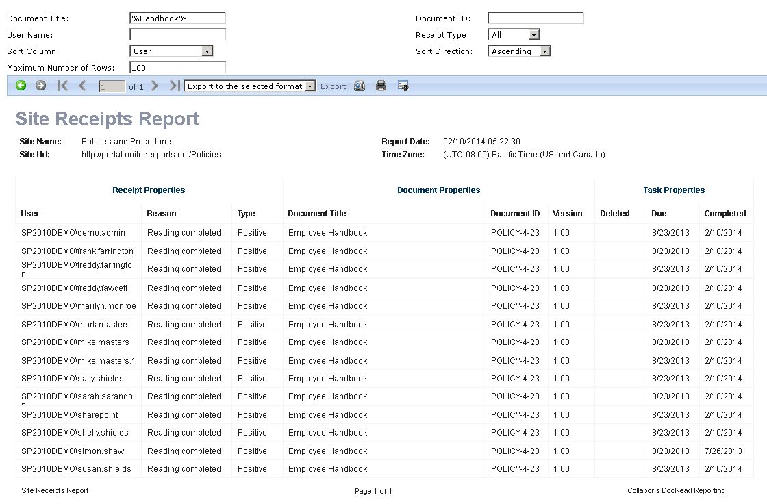 initial-receipts-report