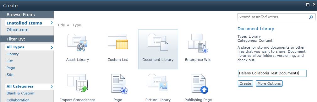 document-library-name