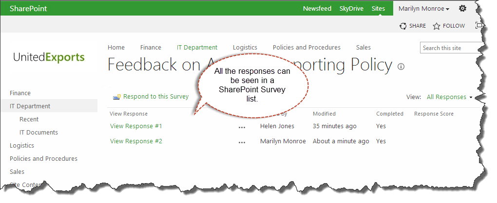 sharepoint-survey-responses-in-a-list