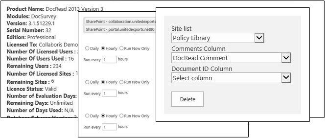 Configure and Customize DocRead – Collaboris
